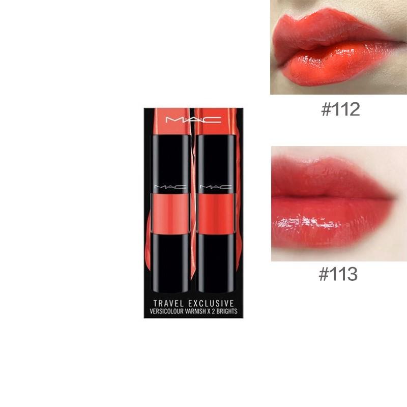 MAC 魅可 清新漆光唇釉套装 #113 8.5ml+#112 8.5ml