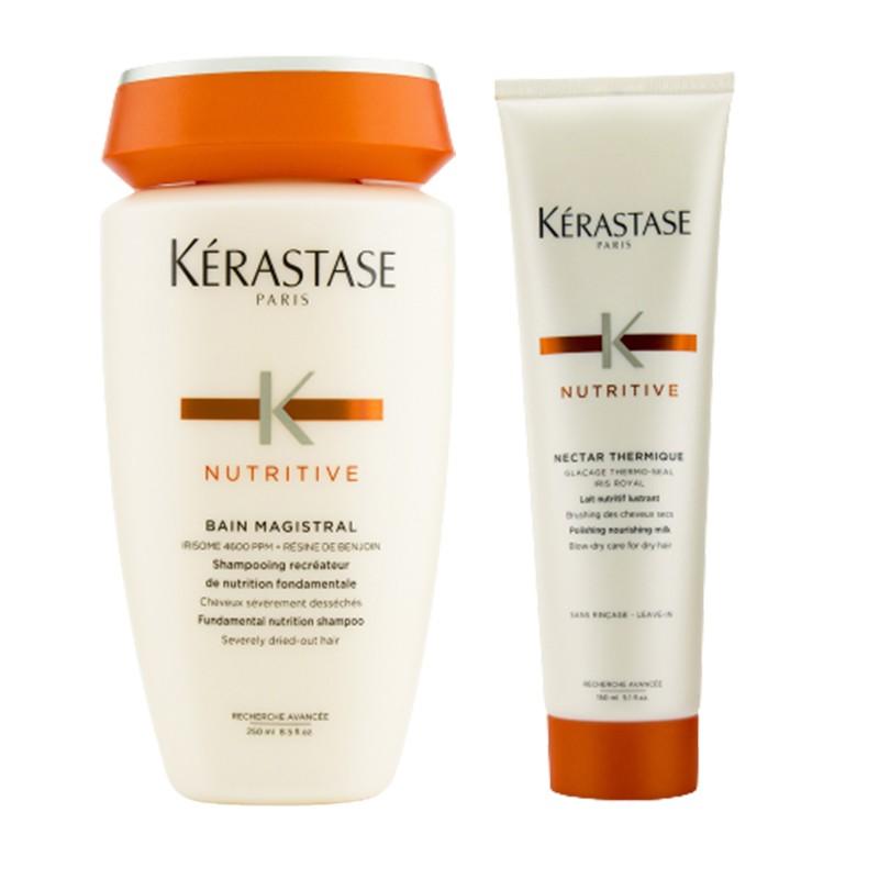 Kerastase 卡诗 滋养修护洗护套装(滋养修复洗发水 250ml+滋养修护护发乳 150ml)
