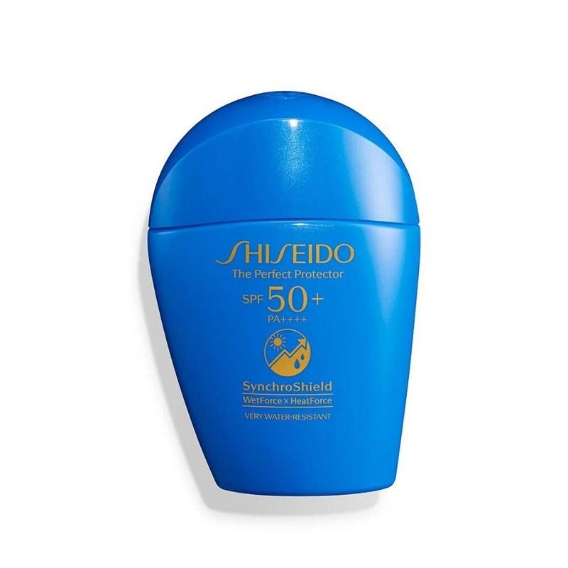 Shiseido 资生堂 新艳阳夏臻效水动力防护乳蓝胖子防晒 50ml