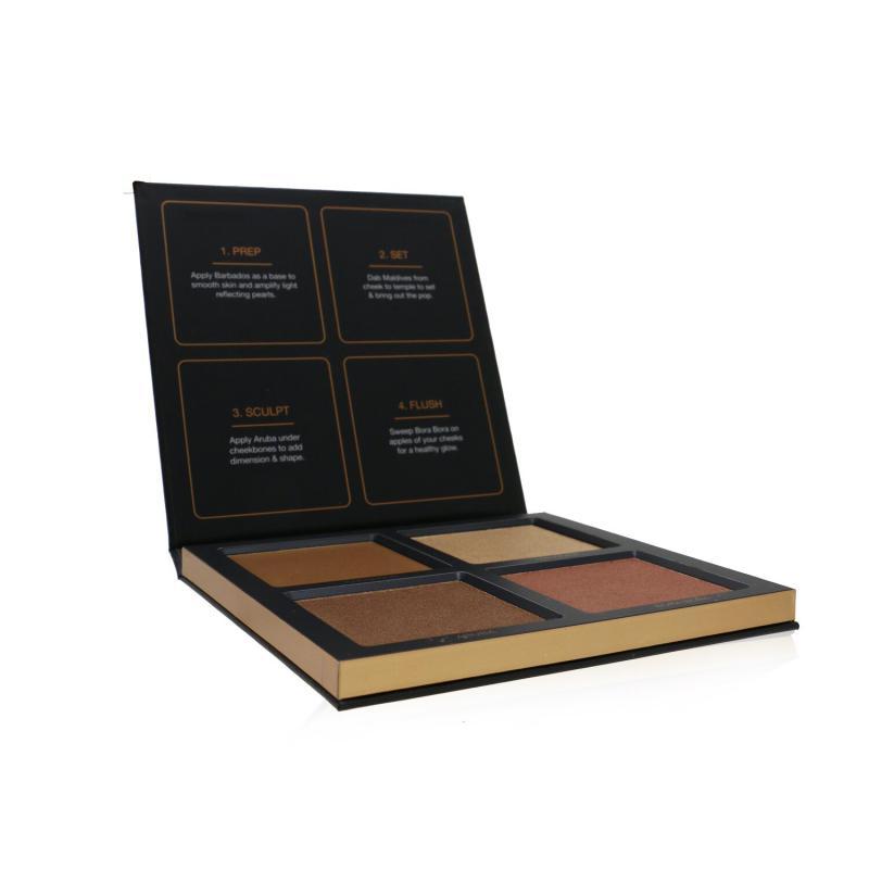 Huda Beauty 3D立体高光修容盘(4x 高光)#Bronze Sands 30g