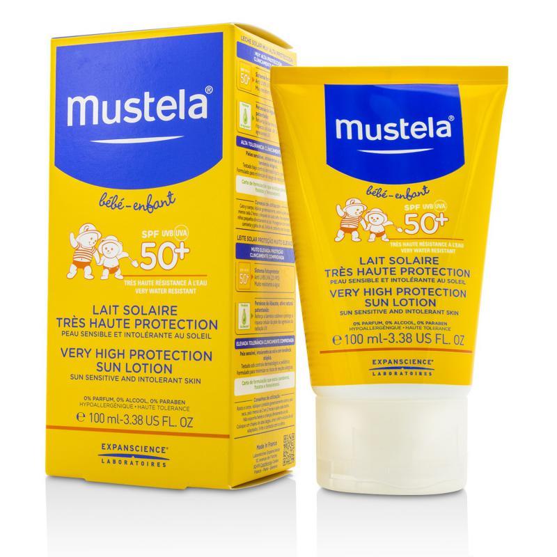 Mustela 妙思乐 儿童高效矿物质防晒霜 - 阳光过敏&不耐受肌肤  100ml
