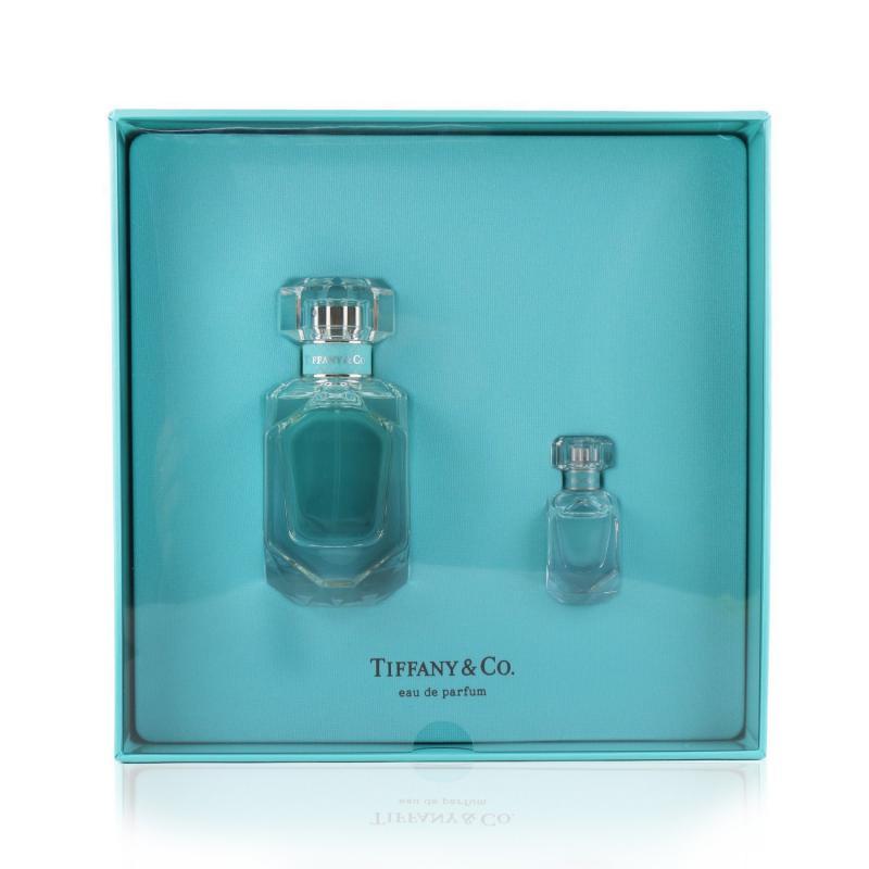 Tiffany & Co. 蒂芙尼 蒂芙尼香氛组合:香水 50ml/1.6oz + 香水 5ml/0.17oz 2pcs