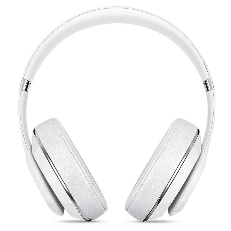 Beats studio 2.0 录音师2代有线 头戴式降噪hifi耳机(白色)