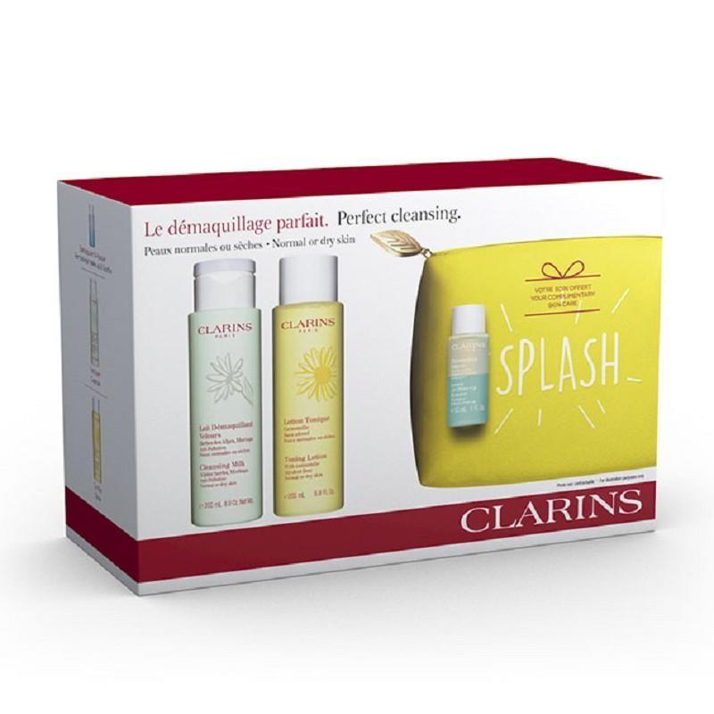 Clarins 娇韵诗 套装(绿吸盘洁颜乳200ml+黄水温和化妆水200ml)
