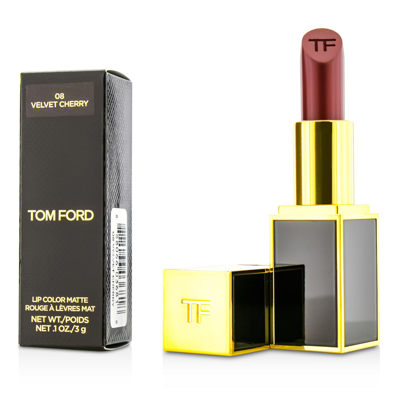 Tom Ford 汤姆福特 黑金黑管滋润哑光唇膏 #08 3g