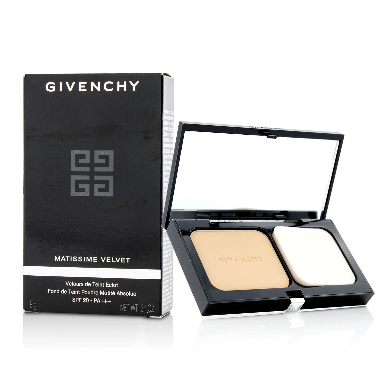 Givenchy 纪梵希 绒雾哑光粉饼SPF20PA+++ #04米白色 9g