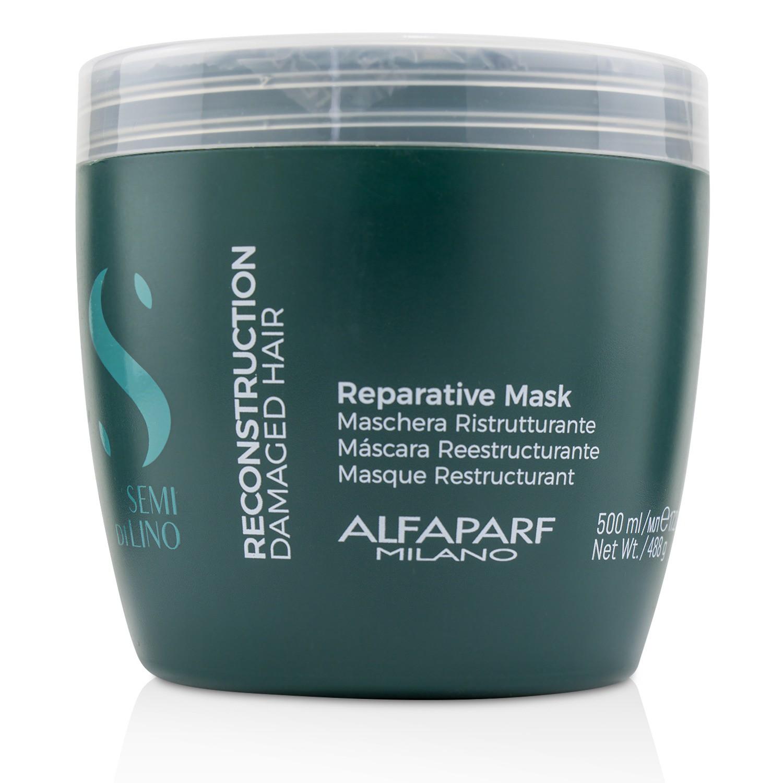 AlfaParf 奥帕夫 亚麻籽重塑修复发膜(受损发质) 500ml