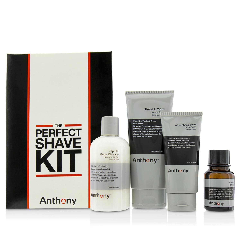 Anthony 安东尼 男士护肤完美剃须套装 4pcs