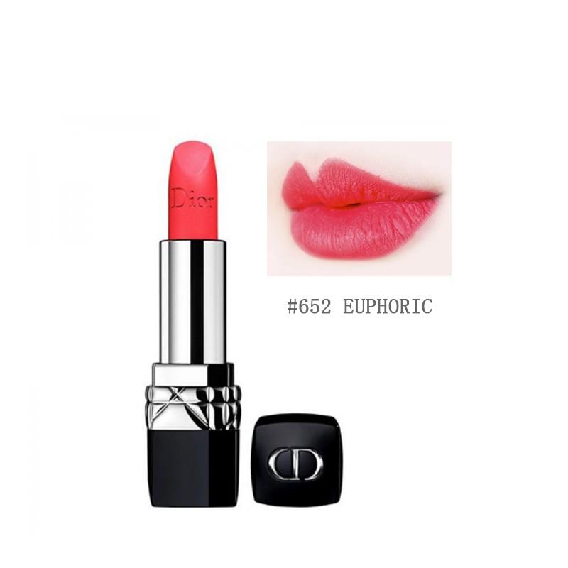 Dior 迪奥 烈艳蓝金唇膏 #652 Euphoric