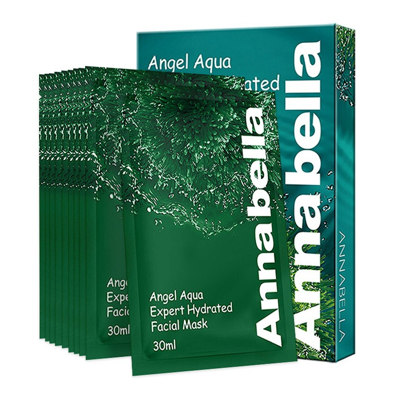 ANNABELLA 安娜贝拉 海藻补水面膜绿色 30ml*10