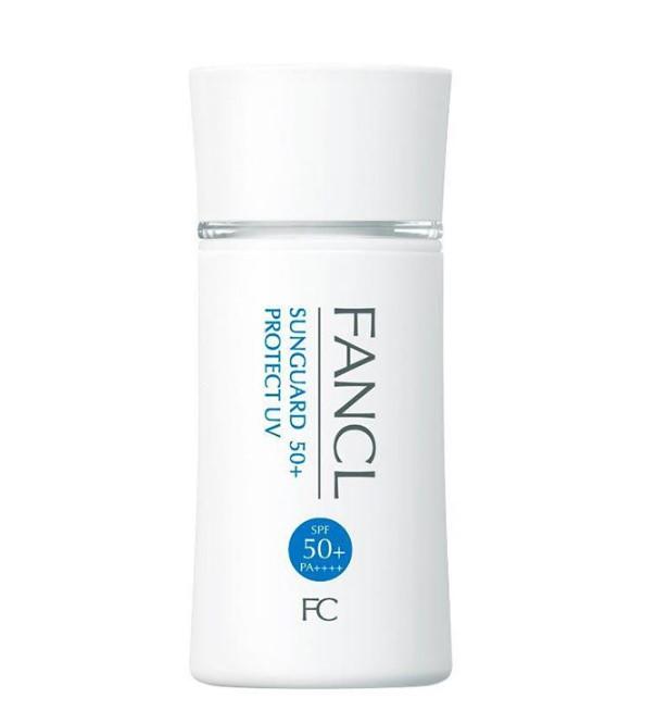 FANCL 芳珂 物理防晒隔离乳 防晒霜60毫升 SPF50+ PA++++新版 敏感肌孕妇可用