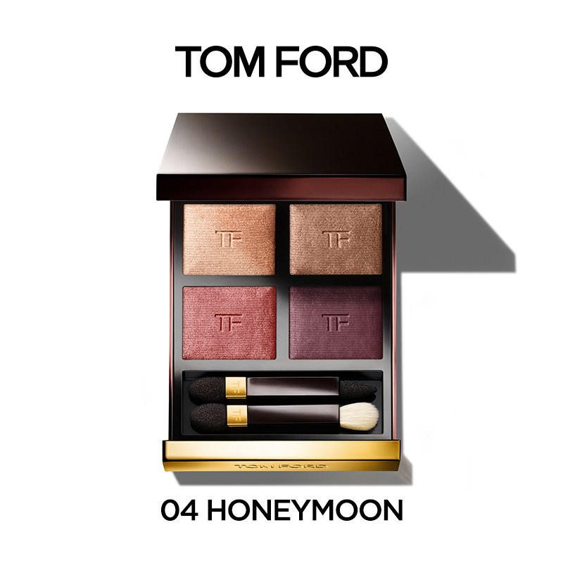 TOM FORD 汤姆福特 幻魅四色眼影盘TF眼影大地色 #04 Honeymoon
